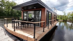 Image principale de l'article Un studio à louer pour une nuitée sur l'eau