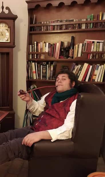 Image principale de l'article Rencontrez l'homme qui vit comme un vrai hobbit