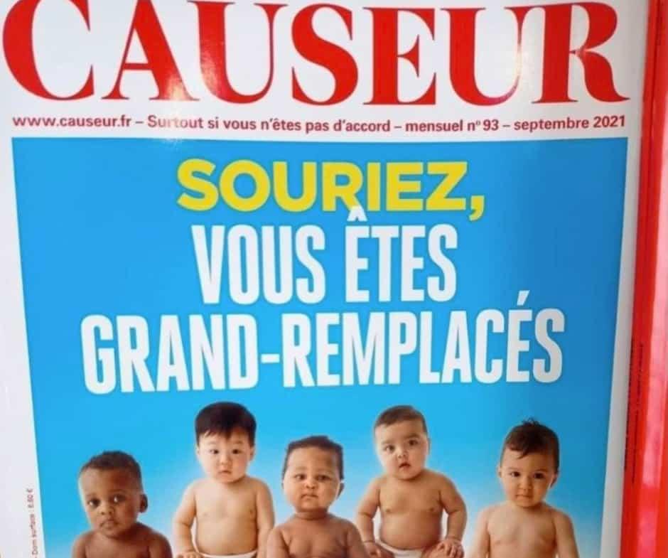 Image principale de l'article La une d'un magazine français décriée