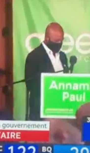 Image principale de l'article Patrice Roy confond Annamie Paul et un homme