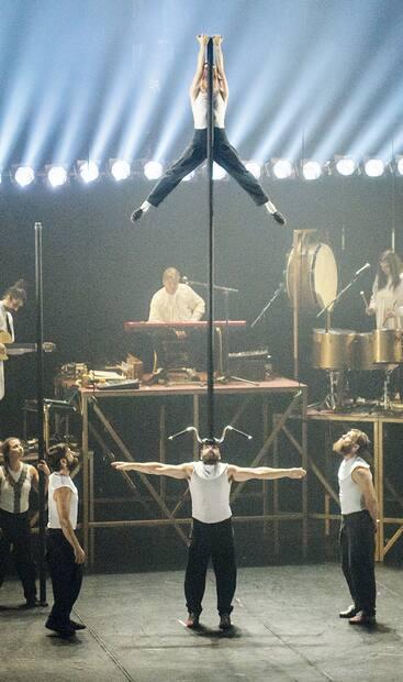 Image principale de l'article Le Québec: une des capitales du cirque