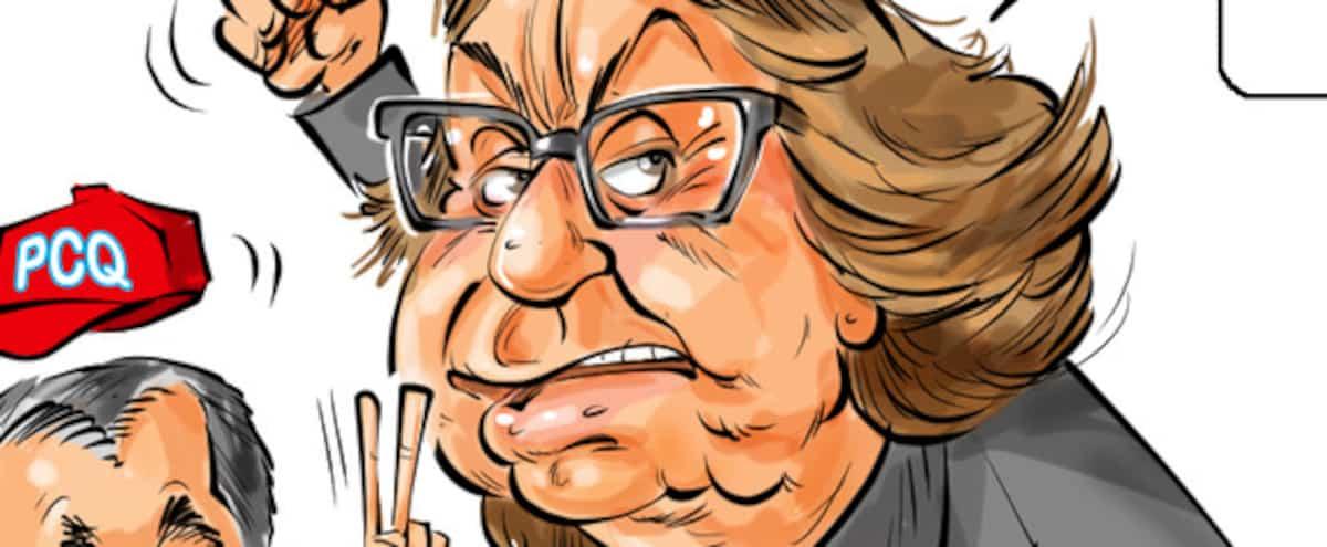 La caricature d'Ygreck