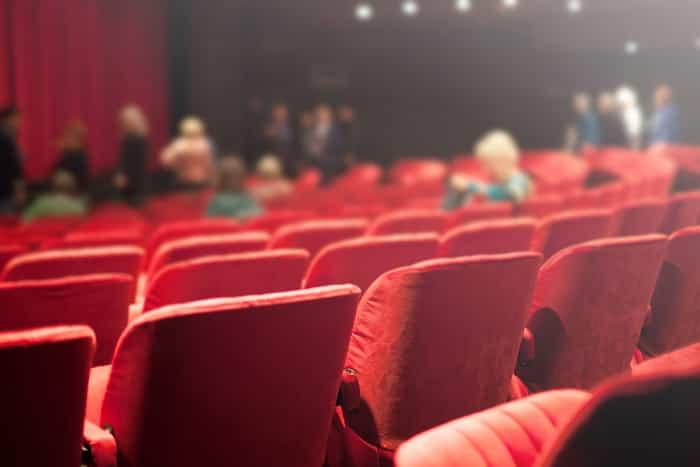 red velvet theater sets
