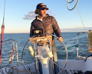 Bryan Marsh est fin prêt pour réaliser son rêver de traverser l'Atlantique en voilier.