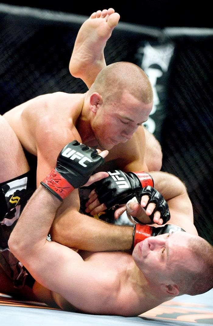 GSP et Matt Serra se sont livré un combat mémorable au Centre Bell le 19 avril 2008 de l'avis de Michel Hamelin.