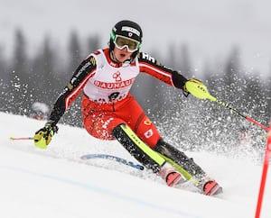 Avec trois Top 10derrière la cravate cette année en slalom, Laurence St-Germain a confiance pour le mondial de Cortina d'Ampezzo.