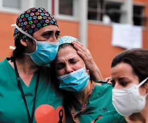 SPAIN-HEALTH-VIRUS-HOSPITAL