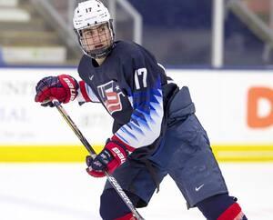 Luke Tuch s'est illustré au sein du programme américain des moins de 18 ans.