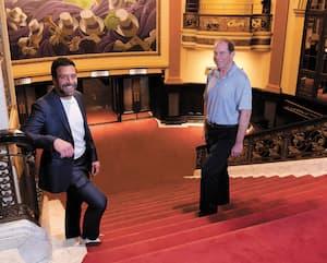 Martin Tremblay et Jacques Tanguay poursuivront au Capitole une collaboration qu'ils ont amorcée au Centre Vidéotron, où les Remparts de Québec évoluent depuis son ouverture, en 2015.