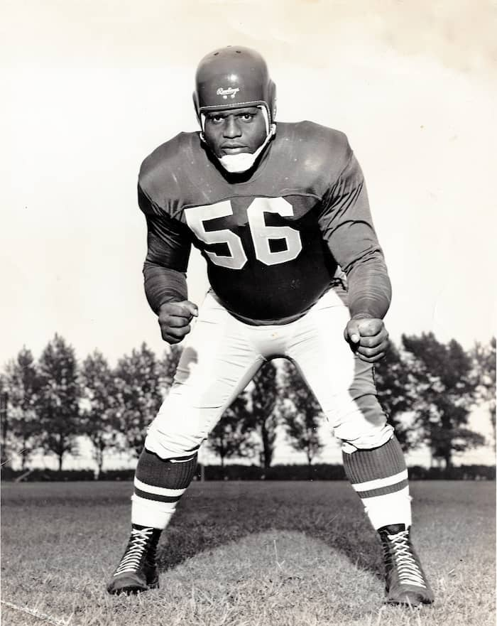 Le numéro 56 porté par Herb Trawick de 1946 à 1957 est l'un des 11 chandails retirés par les Alouettes.