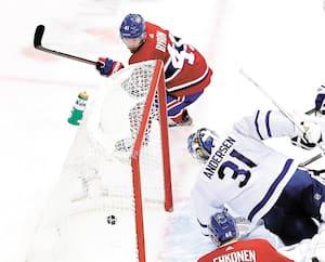 Paul Byron qui a marqué mardi contre les Leafs mérite plus de temps de glace.