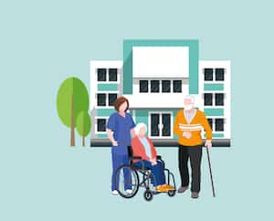 hospital building flat vector illustration. hospital isolated icon, hospital