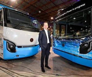 Le grand patron du fabricant de véhicules électriques Lion, Marc Bédard.