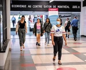 Masque dans les lieux publics intérieurs