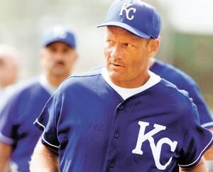 George Brett a connu ses heures de gloire avec les Royals de Kansas City.