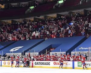 Pour les prochains matchs du Canadien au Centre Bell, 3500 spectateurs seront admis chaque soir.