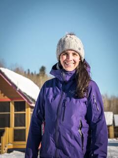 Retraitée du patinage de vitesse, Marie-Ève Drolet profite de sa passion pour la planche à neige dans sa deuxième carrière