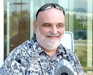 Le président du syndicat des travailleurs du CIUSSS de la Capitale-Nationale, Richard Boissinot