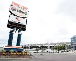 Le complexe de Charlotte pourrait accueillir des épreuves du NASCAR les 24 et 27 mai.