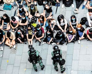 Plus de 300 manifestants ont été arrêtés par les autorités hongkongaises, mercredi.