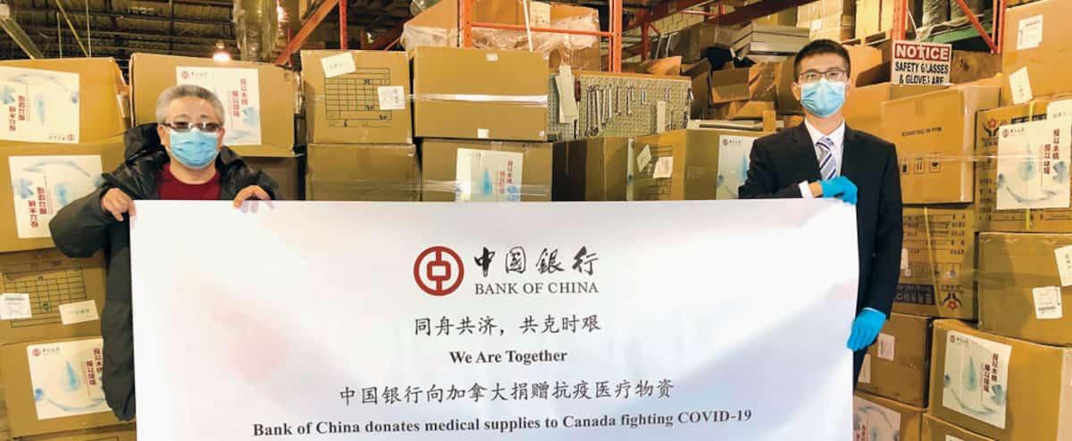 Équipements médicaux: au tour de la Chine de venir en aide au Canada