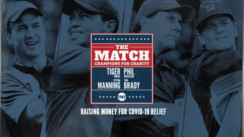 COVID-19: Woods, Mickelson, Manning et Brady s'unissent pour la cause
