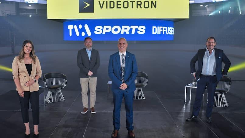 Vidéotron et TVA Sports deviennent partenaires majeurs des Lions de Trois-Rivières