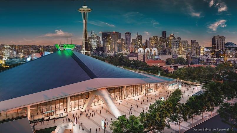 LNH: un géant mondial s'associe à Seattle
