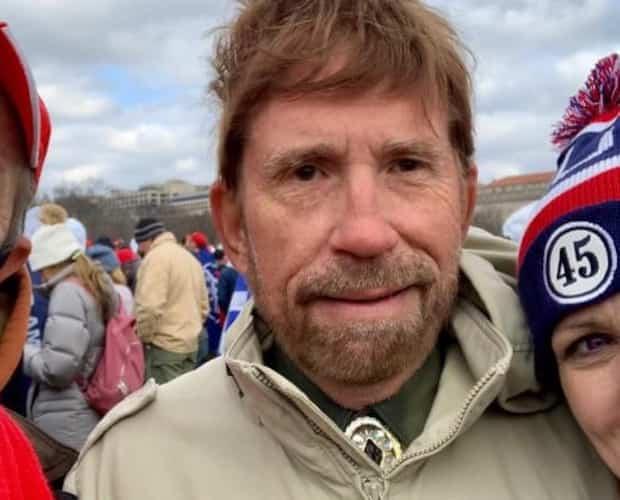 Image principale de l'article Non, Chuck Norris n'était pas au Capitole