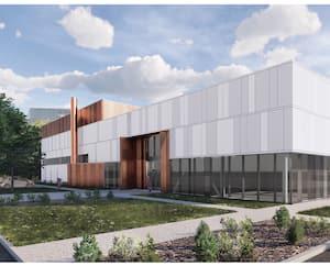Des esquisses de l'extérieur de même que de l'intérieur du futur Centre multifonctionnel à Saint-Augustin ont été dévoilées, lundi.