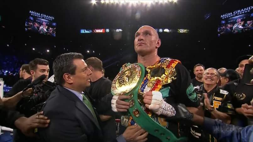 Tyson Fury redevient champion du monde avec éclat!