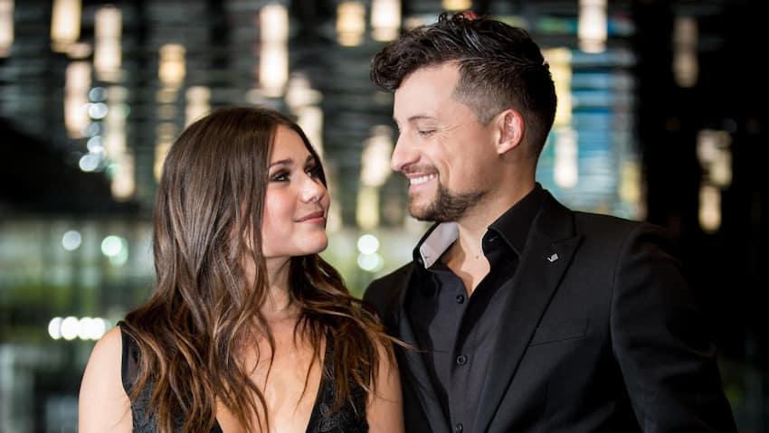 Image principale de l'article Jérôme Couture et Frédérique Dufort seront parents