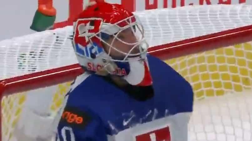 Le gardien slovaque vole les Suisses