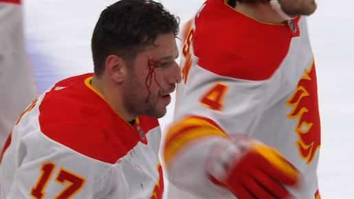 Les Flames se rapprochent des Canadiens