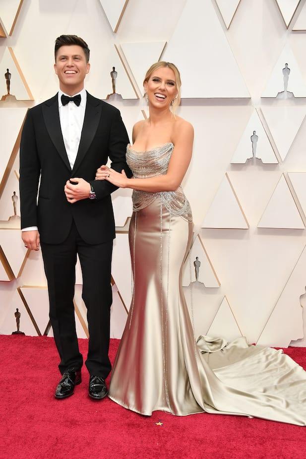 Scarlett Johansson et Colin Jost Sizzle