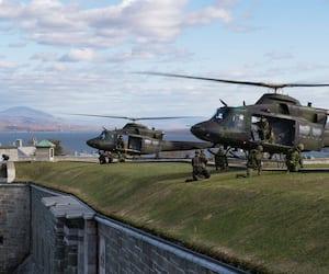 Hélicoptères CH‑146 Griffon