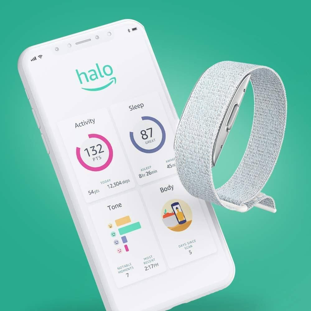 Amazon Halo: le bracelet et l'appli qui scannent votre corps et votre voix  | Pèse sur start