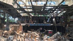 Image principale de l'article Le Jardin Tiki vandalisé et laissé à l'abandon