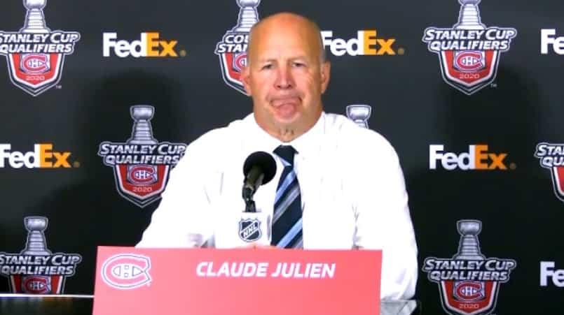 Claude Julien critique les «passagers» du CH