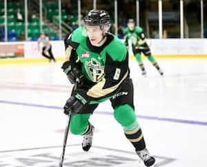 Kaiden Guhle fera de son mieux pour mériter sa place au sein de l'équipe canadienne de hockey junior.