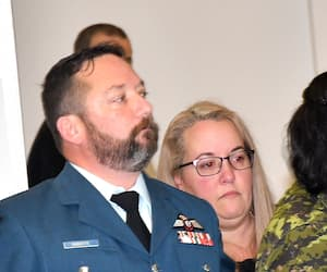 Le major Éric Duquette a été reconnu coupable, samedi, de trois chefs d'accusation, dont celui d'agression sexuelle, en cour martiale.
