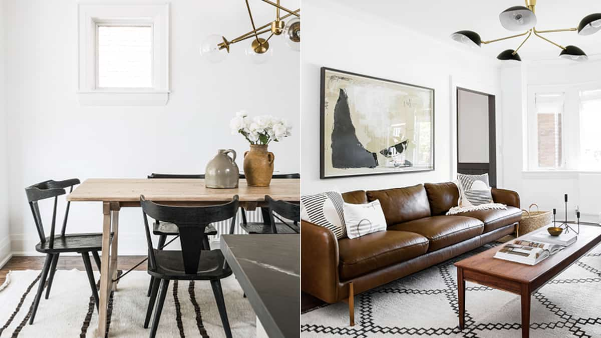 Rehausser Une Table De Salle A Manger une maison au décor neutre qui est tout sauf monotone