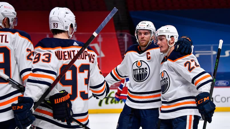 Oilers vs Canadiens