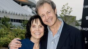 Une des dernières apparitions publiques de Renée Claude, en 2015. Elle et son conjoint, Robert Langevin, avaient assisté à la première du spectaclePlamondon.