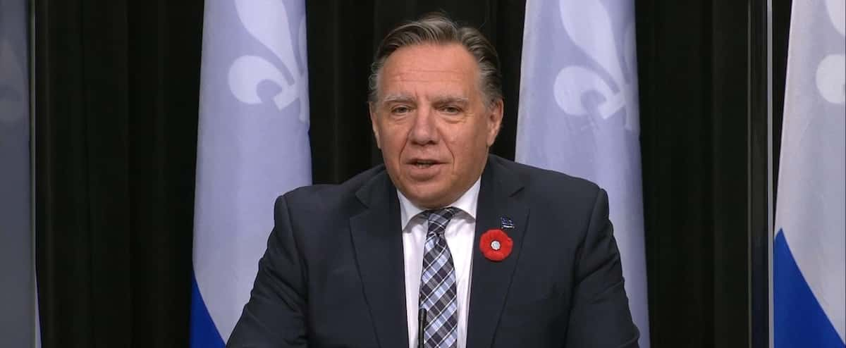 [EN DIRECT] COVID-19: François Legault takes stock of the situation in Quebec