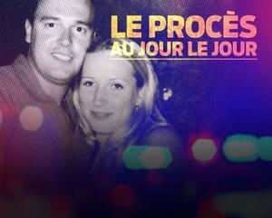Le Québécois Stéphane Parent et la victime Adrienne McColl au début de leur relation de couple, au tournant de l'an 2000. La femme de 21 ans a été tuée le soir de la Saint-Valentin en 2002. Parent subit en Alberta son procès pour ce meurtre.