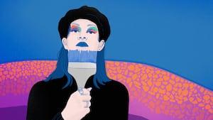 Image principale de l'article La peintre qui entend les couleurs