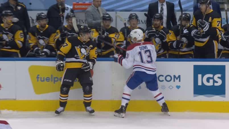 Domi est-il entré dans la tête de Crosby?