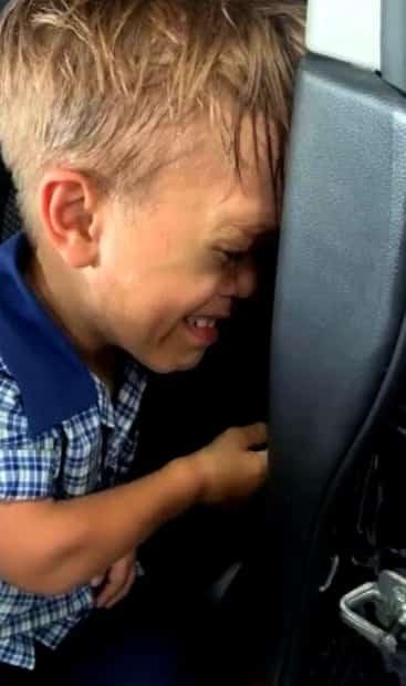 Image principale de l'article Un enfant intimidé émeut la toile