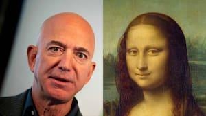 Image principale de l'article Des gens veulent que Jeff Bezos mange La Joconde